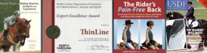 banner saddle pad endorsement publications