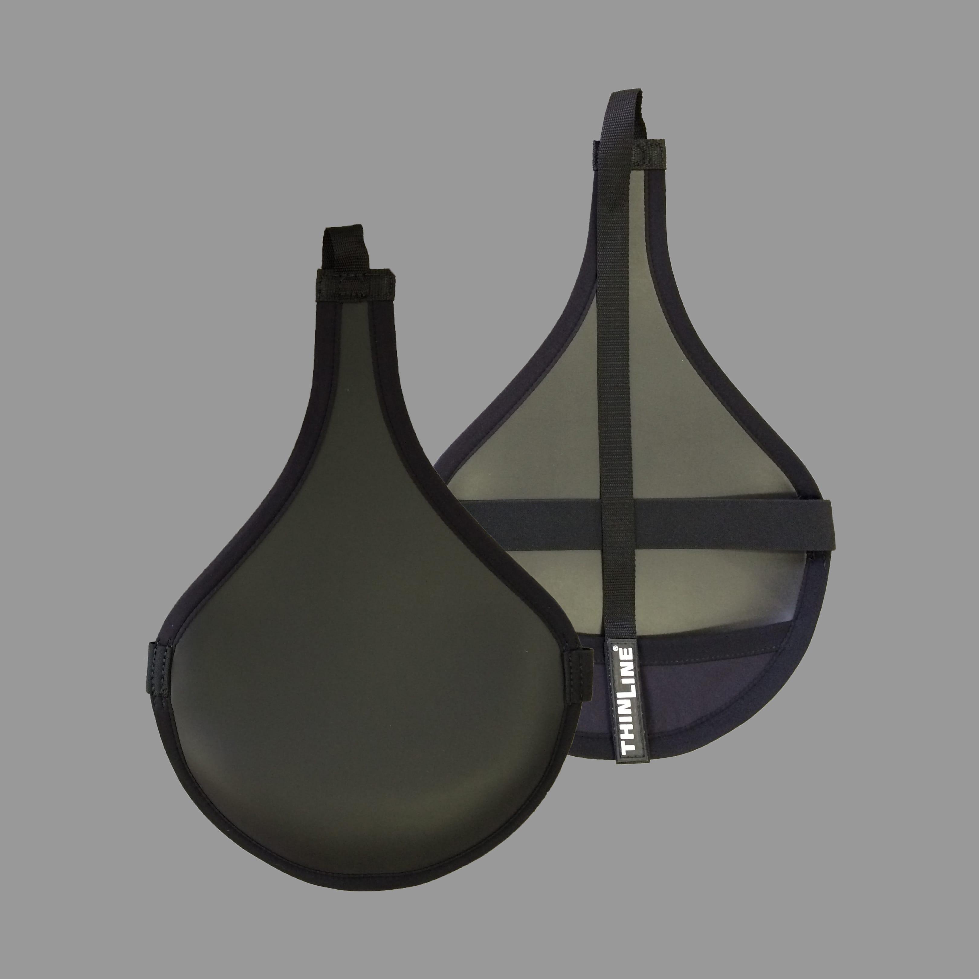 Black All Purpose Saddle Seat Saver